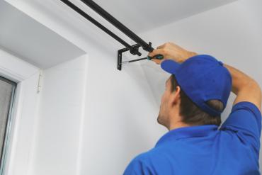 curain rods installation services
