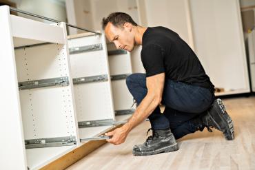 wooden shelves installation services Dubai